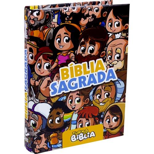 Bíblia Turma da Bíblia Ilustrada Capa Dura