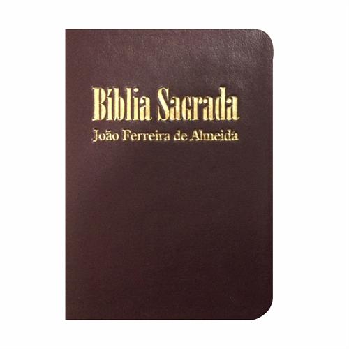 Bíblia Sagrada RC Mini de Bolso - Capa Luxo Vinho