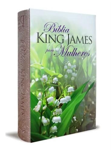 Bíblia King James Para Mulheres Rose Gold 1611