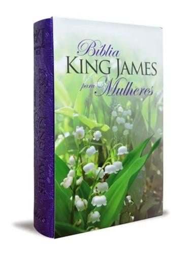 Bíblia King James Para Mulheres Roxo 1611