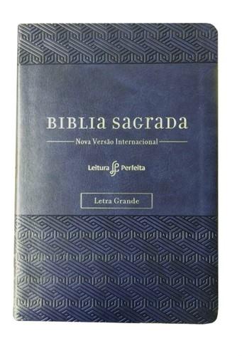 Bíblia Sua Bíblia NVI Letra Grande Azul