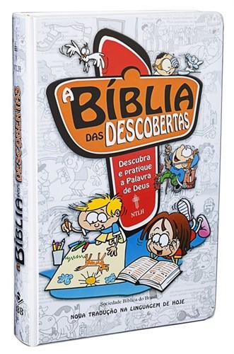 Bíblia das Descobertas Masculina Capa Dura