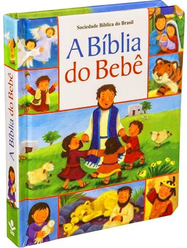 Bíblia do Bebê - Almofadada Capa Dura