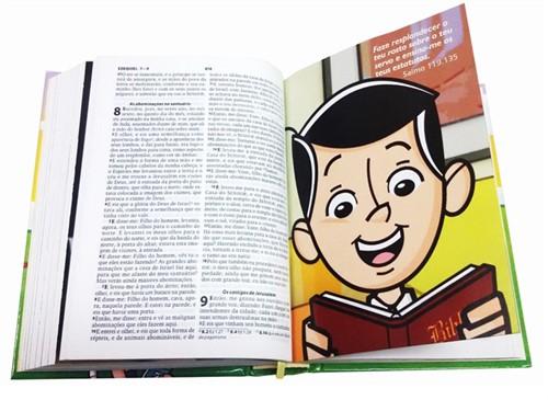 Bíblia do Midinho o Pequeno Missionário Capa Almofadada