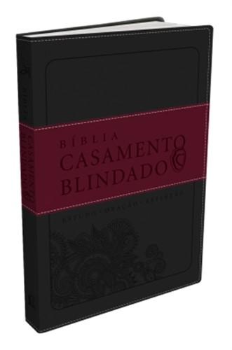 Bíblia Casamento Blindado Cinza