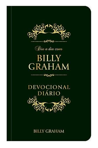 Dia a Dia com Billy Graham Couro Luxo
