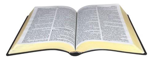 Bíblia Harpa Letra Gigante Sintética Preta