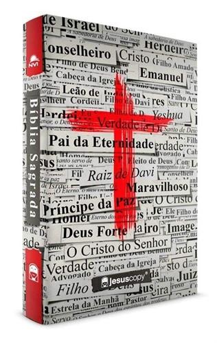 Bíblia Jesuscopy Cruz - Nova Versão Internacional