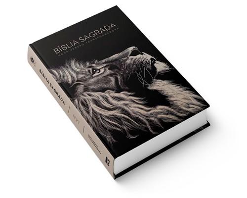 Bíblia NVT Letra Grande Lion Head Capa Dura