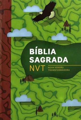 Bíblia NVT Letra Normal Aventura - Capa Dura