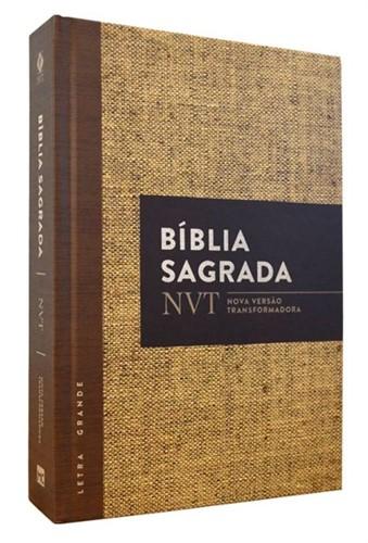 Bíblia NVT Letra Grande Juta - Capa Dura