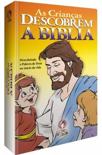 Crianças Descobrem A Bíblia Capa Dura