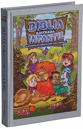 Bíblia Ilustrada Infantil Prata