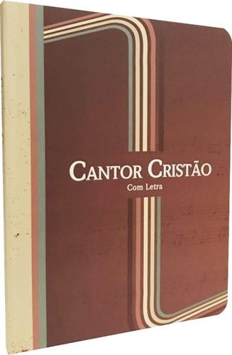 Cantor Cristão Médio Letra Grande Brochura Com Letra
