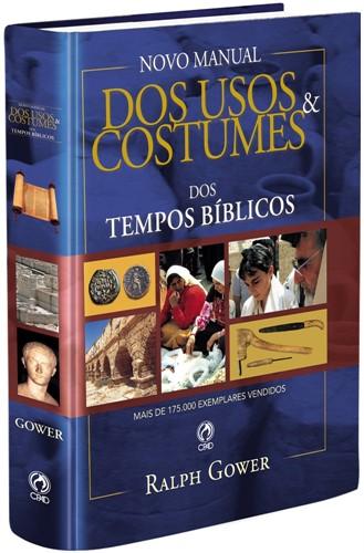Usos E Costumes Dos Tempos Bíblicos Capa Dura