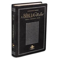 BÍBLIA DA MULHER MEDIA PRETO NOBRE-RA