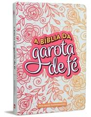 Bíblia da Garota de Fé NVT Rosa