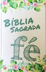 Bíblia com Harpa Capa Fé Flores
