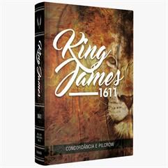 Bíblia King James 1611 - CONCORDÂNCIA E PILCROW- LEÃO
