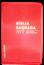 Bíblia NVT Letra Grande Luxo Costurada Vermelho Escovado