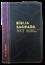 Bíblia NVT Letra Grande Luxo Bi-Color Preto Costura com Vinho Costura