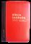 Bíblia NVT Letra Grande Zíper Bi-Color Vermelho com Preto