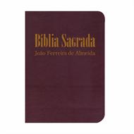 Bíblia Sagrada RC Mini de Bolso c/ zíper - Vinho