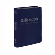 Bíblia Sagrada RC Mini de Bolso c/ zíper - Azul Escuro