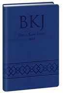 Bíblia King James Ultra Fina Luxo Gigante Azul