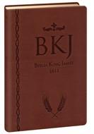Bíblia King James Ultra Fina Luxo Gigante Marrom