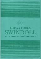 BÍBLIA DE ESTUDO SWINDOLL NVT-AQUA.