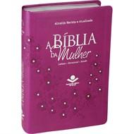 Bíblia Da Mulher Média Vinho-RA