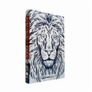 Bíblia JesusCopy – capa dura/ Leão branco - Nova Almeida Atualizada