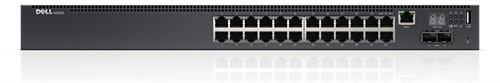 Dell Networking Switch N2024 L2 c/ 24x 10/100/1000Mbps + 2x 10GbE SFP+ e 2x portas Stacking (Empilhavel ate 12 unid.) - 210-ABNV#410..