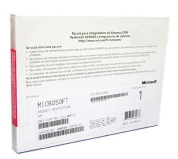 Windowns Pro 10 64 Bits Português - FQC-08932OEMMD_DP