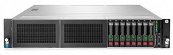 HP Servidor ProLiant DL380 G9 S-BUY Xeon E5-2630v3 (1x Proc.) 8C, 16GB RAM, HD 1x600GB SAS 10K SFF, 1x Fonte 500W - 779560-S05