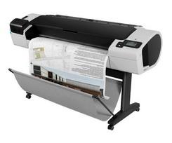 "Impressora HP DESIGNJET PLOTTER HP, T1300PS, 44"", CR652A#B1K"