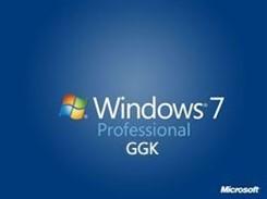 WINDOWS 7 PROFESSIONAL GGK - 32/64 BITS OEI DVD