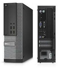 Dell Desktop Optiplex 7020SFF Intel Core i5-4590 3.3GHz, 4GB RAM, 500GB HD, DVD-RW, Win7 Pro - 210-ACTU-2