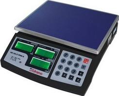 Balanca US 20/2 POP-S - capacidade 20Kgx2g, LCD, c/ back light e bateria - Urano 22.31.100.0554