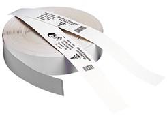 Cartucho de pulseiras adesivas Z-band para Impressoras Zebra GK420, GX420, LP, TLP, e outras