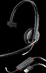 Fone De Ouvido Headset Plantronics Usb Blackwire C310m