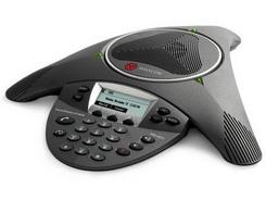Polycom Telefone Audioconferencia SoundStation IP6000 (SIP) - Alimentação AC ou PoE - 2200-15600-001