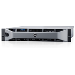 Dell Servidor PowerEdge Rack R730 Intel Xeon E5-2630v4 2.2GHz 10C (1x Proc.), 32GB RAM, 2x 1.2TB SAS HD, DVD, 2x Fonte 750W (sem Sistema Operacional) - 210-ADHF-268P#550