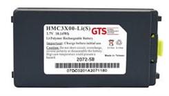 Bateria GTS para coletor MC30xx/31xx Brick, 2700 mAh