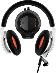 Plantronics Headset RIG Stereo + Mesclador, ideal para Gamers (USB/Jack 3.5mm) - Branco - 89989-01