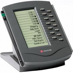 Polycom Modulo Expansão SoundPoint IP Backlit para SoundPoint IP 650 SIP phone - 2200-12750-025
