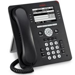 Avaya Aparelho Telefonico IP (9608G), Display, 2x 10/100/1000Mbps, SIP, Poe - cor preto- 700505424