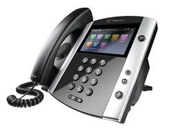 Polycom VVX 600 Telefone Ip com Bluetooth e HD Voice (POE) - 2200-44600-025