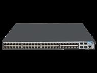 Switch HP 1920-48G com 48 portas PoE+ 10/100/1000Mbps RJ45 + 4x SFP (Potencia PoE máxima 370W) JG928A